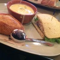 Photo taken at Panera Bread by Vanessa V. on 2/5/2014