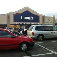 Photo taken at Lowe's Home Improvement by Jonathan H. on 10/11/2012