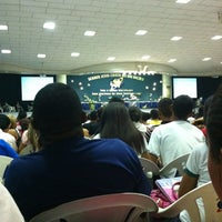 Photo taken at Igreja da Paz by Paulo V. on 4/17/2012