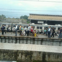 Photo taken at Stasiun Bogor by Nano T. on 3/13/2012