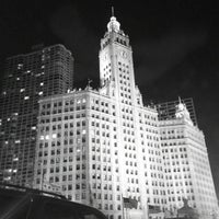 Photo taken at Wrigley Building by Keenan B. on 1/4/2012