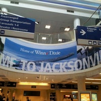 Photo taken at Jacksonville International Airport (JAX) by Samantha D. on 1/15/2013
