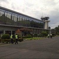 Photo taken at Bandara Radin Inten II Lampung Selatan (TKG) by Omar S. on 2/19/2013
