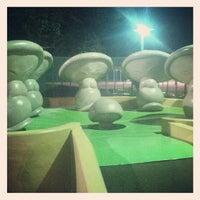 Photo taken at Fantasia Gardens Miniature Golf by Danielle on 5/10/2013