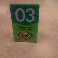 Photo taken at A&W by widi b. on 1/4/2014