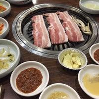 Photo taken at Hyang-to-gol Korean Restaurant by Tan P. on 10/17/2014