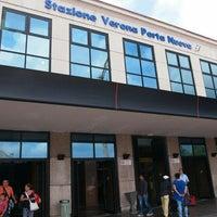 Photo taken at Verona Porta Nuova Railway Station by Shohei Y. on 8/25/2013