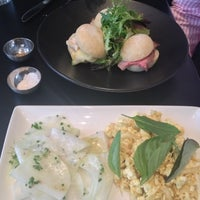 Photo taken at Threefold – Foodstore & Eatery by Peter W. on 12/17/2012