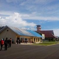 Photo taken at Bandara Tampa Padang (MJU) by Gunawan S. on 4/15/2013