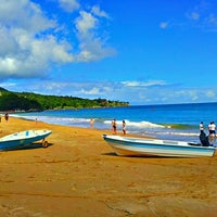 Photo taken at Praia do Curral by André V. on 3/29/2013