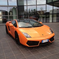 Photo taken at Automobili Lamborghini S.p.A. by Francesco P. on 4/12/2013