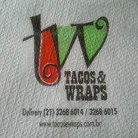 Photo taken at Tacos & Wraps by Bruna C. on 6/13/2013