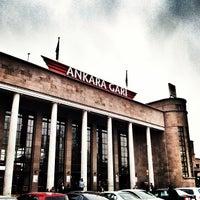 Photo taken at Ankara Garı by Ulaş A. on 3/21/2013