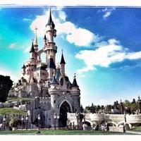 Photo taken at Disneyland® Paris by Mari 🍉 L. on 5/3/2013