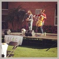 Photo taken at Vaughn Courtyard by Kiara J. on 3/1/2013