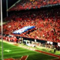 Photo taken at Arizona Stadium by Jessie on 11/24/2012