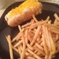 Photo taken at Mike's Chicago Hot Dogs by Melissa B. on 5/14/2013