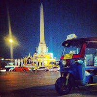 Photo taken at Victory Monument by Pisan C. on 2/9/2013