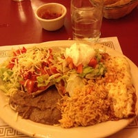 Photo taken at Mexican Town Restaurant by Francesca C. on 9/27/2012