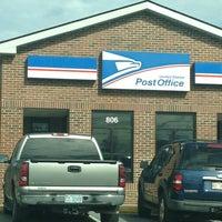 Photo taken at US Post Office by ♔ Princess Laurel K. on 2/8/2013