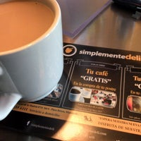 Photo taken at Simplemente Deli by Irving C. on 5/5/2013