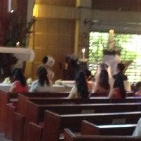 Photo taken at Redemptorist Church by Ivin C. on 4/13/2013