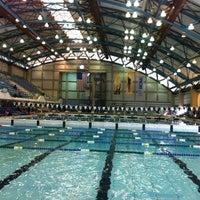 Photo taken at Nassau County Aquatic Center by Gilberto J. on 11/17/2012