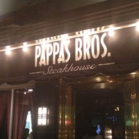 Photo taken at Pappas Bros. Steakhouse by Charles on 2/22/2013