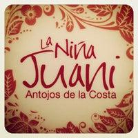 Photo taken at La Niña Juani, Antojos de la Costa by Juan Sebastian E. on 3/6/2013