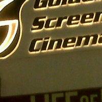 Photo taken at Golden Screen Cinemas (GSC) by Anum Nur S. on 11/16/2012