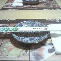 Photo taken at Bambuszliget Japán Étterem & Sushi Bár by Tímea K. on 1/31/2013