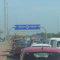 Photo taken at Al-Bida'a Roundabout by Ahmad A. on 11/8/2012