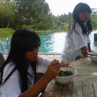 Photo taken at Swimming Pool Bumi CIMB Niaga by Yodi HCS H. on 2/9/2013