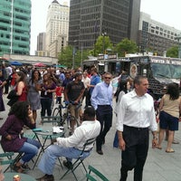 Photo taken at Los Dos Amigos Taco Truck by missy s. on 7/24/2014