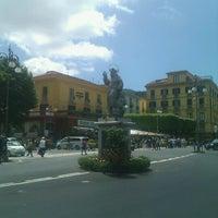 Photo taken at Piazza Tasso by Oksana N. on 5/12/2013