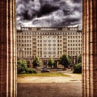 Photo taken at Karl-Marx-Allee by Eric S. on 6/15/2014
