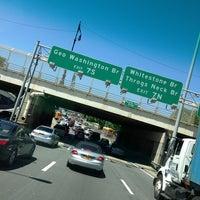 Photo taken at Major Deegan Expressway (I-87) by Fernando E. on 6/4/2013