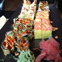 Photo taken at Sushi Lounge by Eunice M. on 7/1/2013