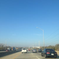 Photo taken at I- 290 & I-90 Interchange by Michelle D. on 11/8/2013