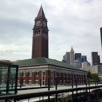 Photo taken at King Street Station (SEA) by Kerry M. on 7/13/2013