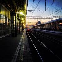 Photo taken at Kursky Rail Terminal by Aleksei K. on 6/19/2013