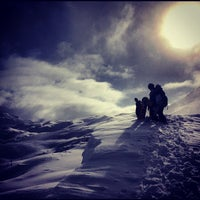 Photo taken at Tignes by Anastasia U. on 1/4/2013