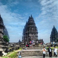 Photo taken at Candi Prambanan (Prambanan Temple) by Adilla mamega s. on 7/3/2013