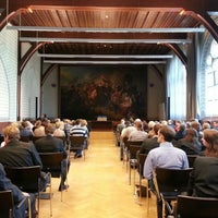 Photo taken at Academiegebouw by Mike S. on 10/22/2012
