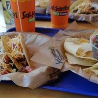 Photo taken at Salsarita's Fresh Cantina by Melanie G. on 10/24/2014