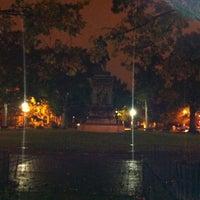 Photo taken at Logan Circle by Steven M. on 10/29/2012