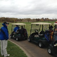 Photo taken at Tiffany Greens Golf Club by Aaron W. on 10/19/2012