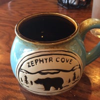 Photo taken at Zephyr Cove Restaurant by Jason Y. on 2/15/2016