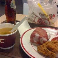 Photo taken at KFC by Marisa H. on 10/20/2012