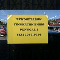 Photo taken at SMK Petra Jaya by Zahrain M. on 5/8/2013